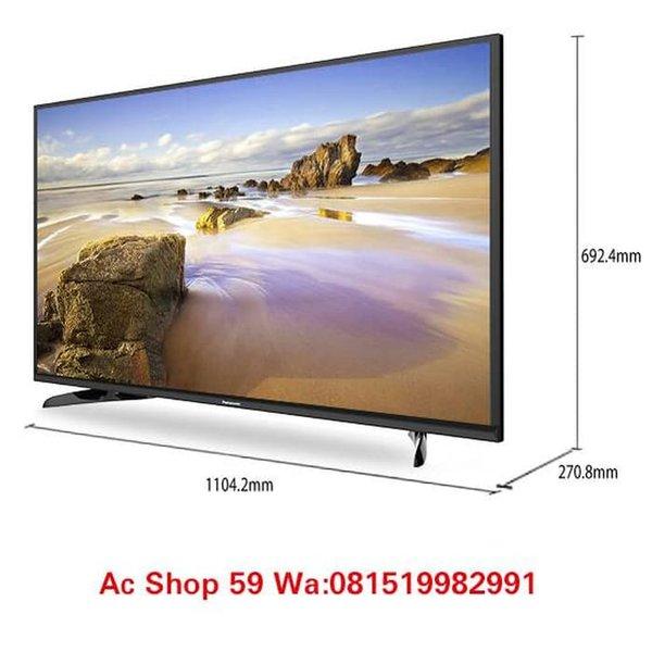 LED TV PANASONIC 49 E 305G VIERA FULL HD SMART TV 4 K IPS FLAT Asli