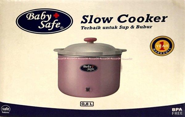 Peralatan Masak Lainnya Baby Safe Slow Cooker Alat Rice Cooker Untuk Memasak Sup Bubur Bayi 0.
