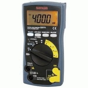 digital multitester / digital multimeter SANWA CD771, cd-771