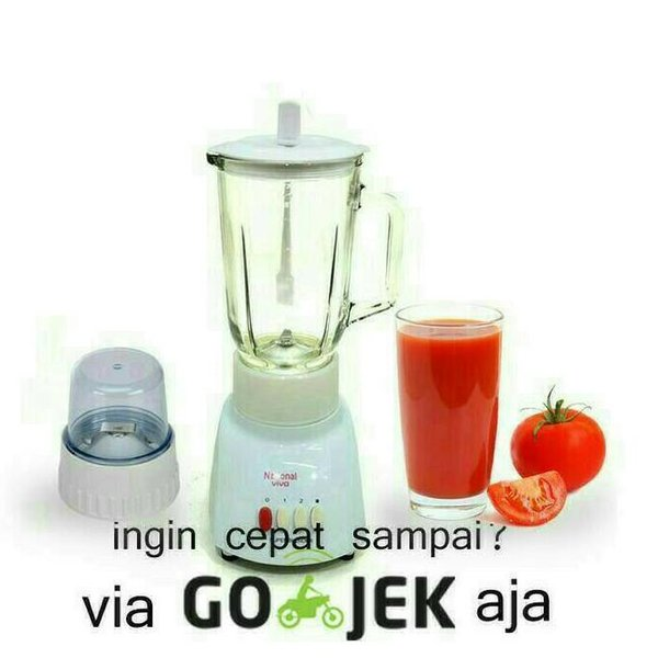 TERLARIS BLENDER NATIONAL KACA 2 IN1 T9GN BISA GOJEK PROMO