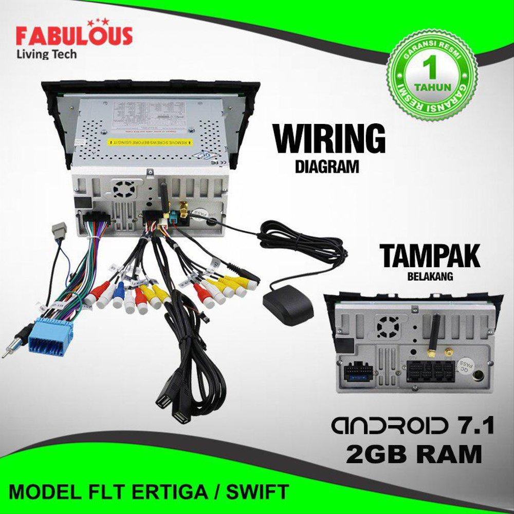 medium resolution of jual headunit doubledin suzuki ertiga android 7 1 mobil 2din di headunit wiring diagram
