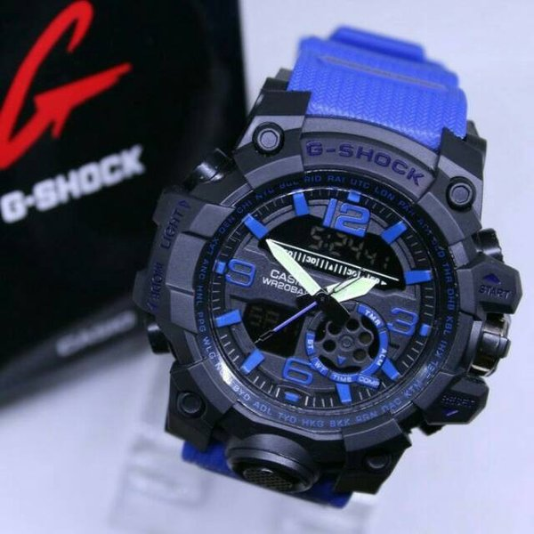 G SHOCK JAM TANGAN ANALOG   DIGITAL Merek CASIO GWGJ 110 GSHOCK ANTI AIR G SHOCK Tali RUBBER G SHOCK