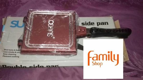 waffle DG694 SUGGO CETAKAN KUE DOUBLE SIDE PAN PANGGANGAN DOUBLE SIDE