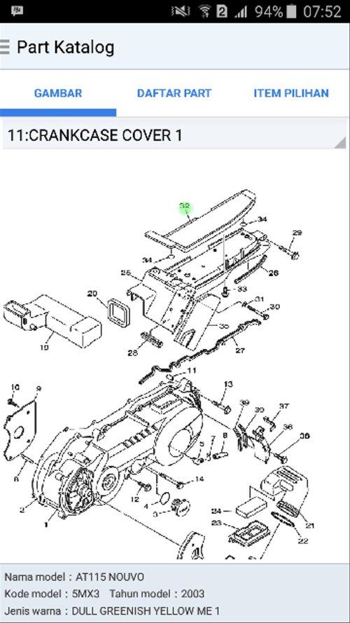 small resolution of jual karet tatakan cvt nouvo lele ori ygp di lapak jauzaa motor ddawir diagram cvt nouvo