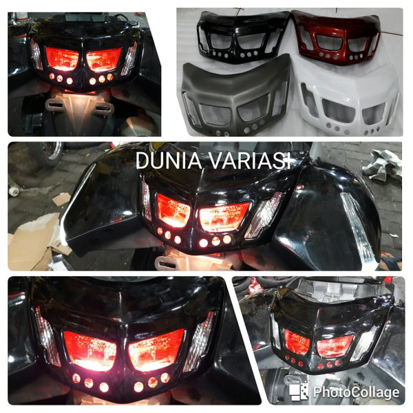cover lampu belakang / stop nmax new model