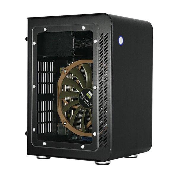 Jonsbo U1 Window Black Mini ITX Case Aluminium Computer PC C