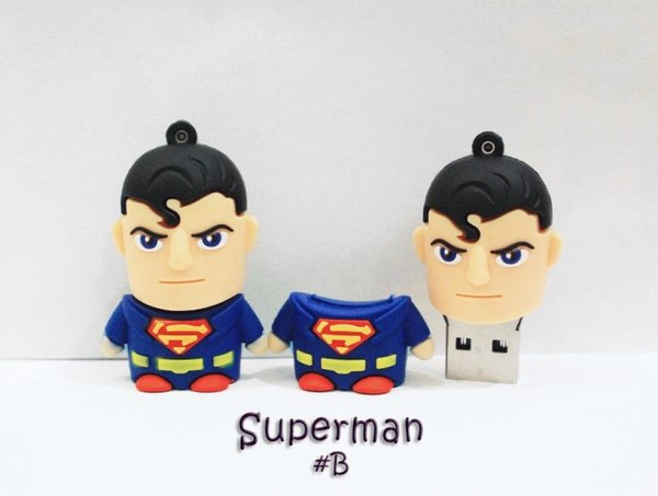 USB Flashdisk Lucu Superman 16GB
