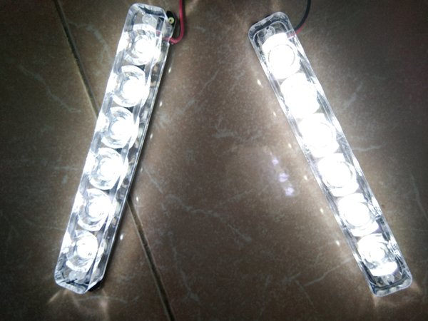 Lampu LED Strobo Blitz Flash Light DRL Variasi Motor Mobil 188