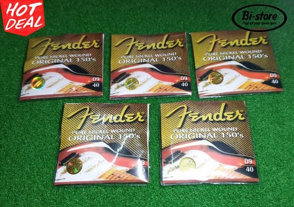 STRING GITAR AKUSTIK FENDER ORIGINAL 150.S SUPER LIGHT SALE
