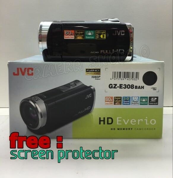 exxclusive HANDYCAM JVC EVERIO GZE308 BAH Limited