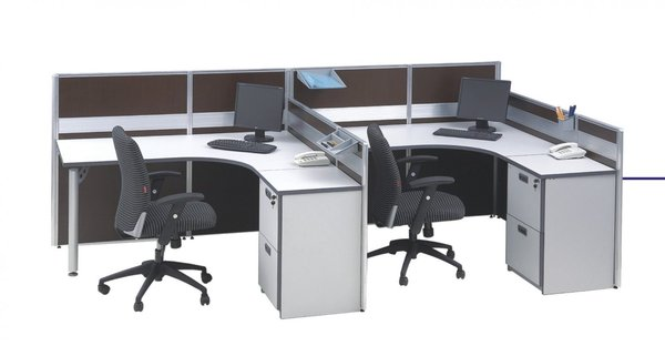 Meja Kantor , Partisi & Office Furniture