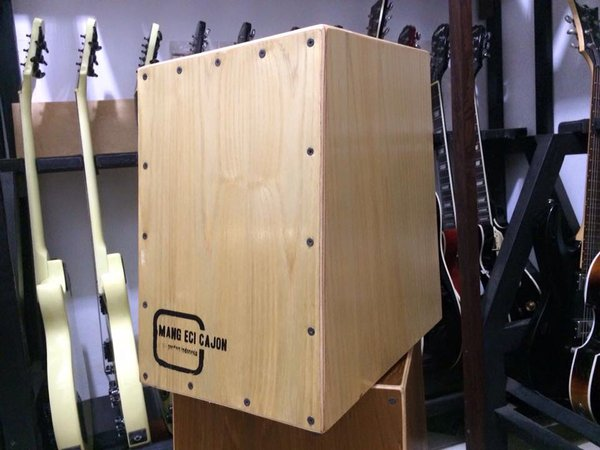 Cajon Akustik / Drum Box Natural