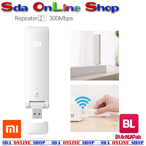 XIAOMI WiFi Amplifier 2 Repeater Extender USB