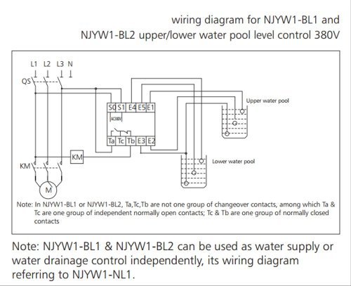 small resolution of  floatless switch relay water level control 220v chint