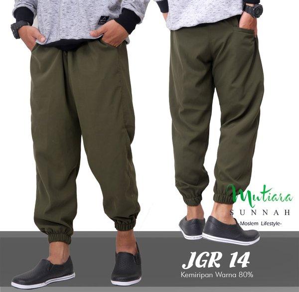 Jogger Pants - Celana Jogger - Sirwal Jogger - Celana Jogging Pria - Celana Olahraga - JGR 14