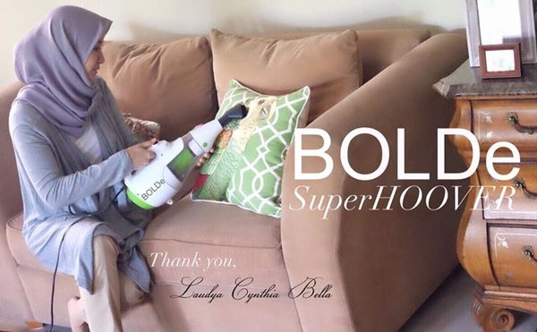 VACUUM CLEANER BOLDE SUPER HOVER Hepa filter 2in1 spt vacum ez hoove