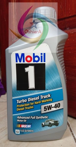 Best Seller OLI MOBIL 1 TURBO DIESEL TRUCK 5W-40 1L