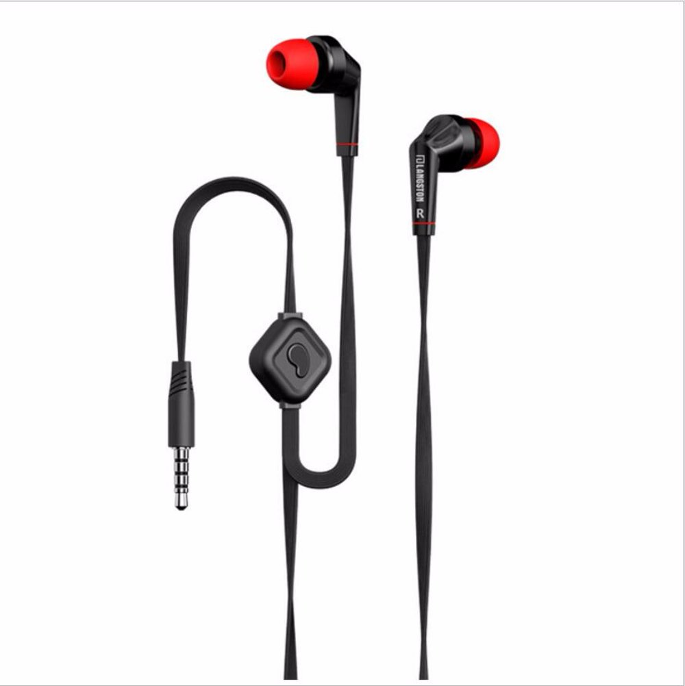 Jual Headset IEM Stereo Noodle Cable 3.5mm Jack with