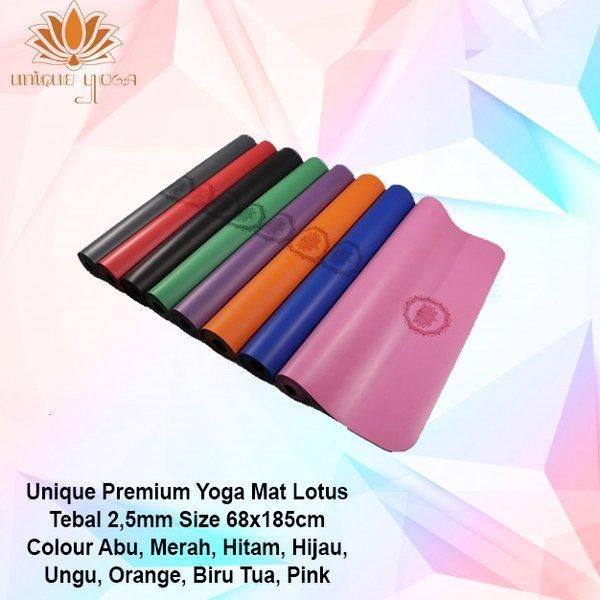 Jual Matras Yoga Kualitas Liforme lululemon Unique Premium Yoga Mat Lotus