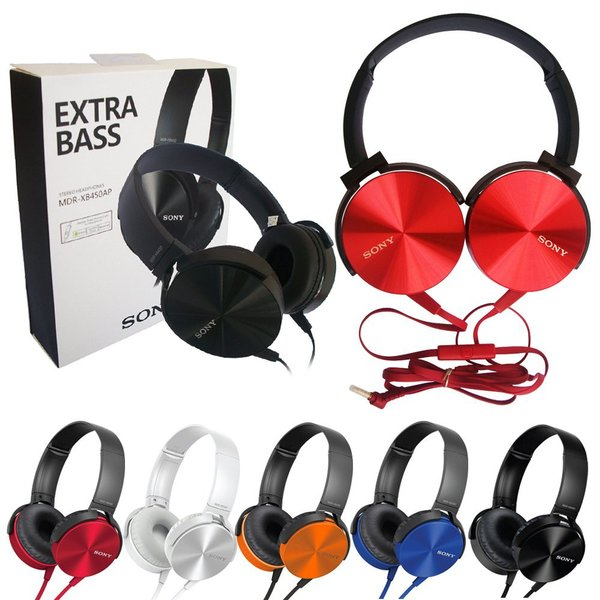 HEADSET EXTRA BASS SONY MDR - XB450AP