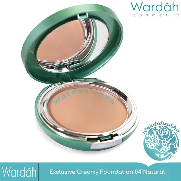 Wardah Exclusive Creamy Foundation 04 Natural