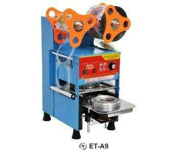 Et-a9 Automatic Cup Sealer/mesin Penyegel Cup Plastik Otomatis