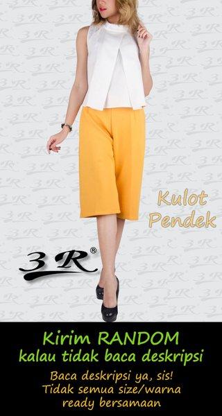 Kulot Pendek Celana Wanita bahan Scuba Impor Cullote Jumbo ready Diskon Limited Termurah Berkualitas