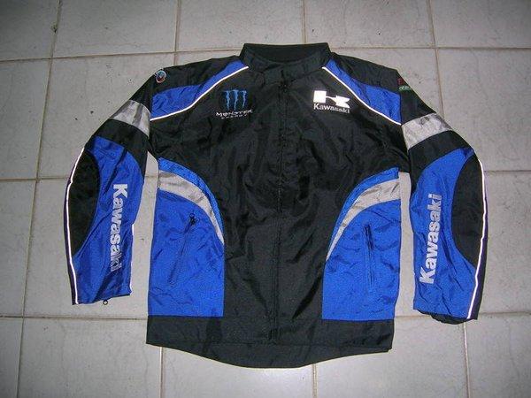 Jaket Motor Kawasaki Greentech Scudetto