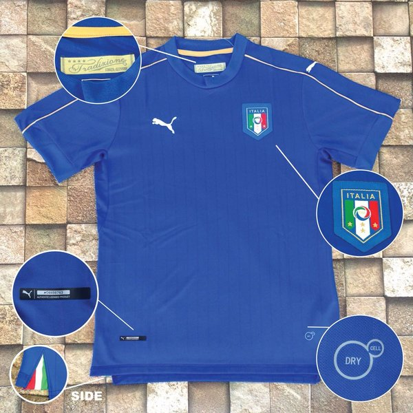 Italy Euro 2016 Home Jersey