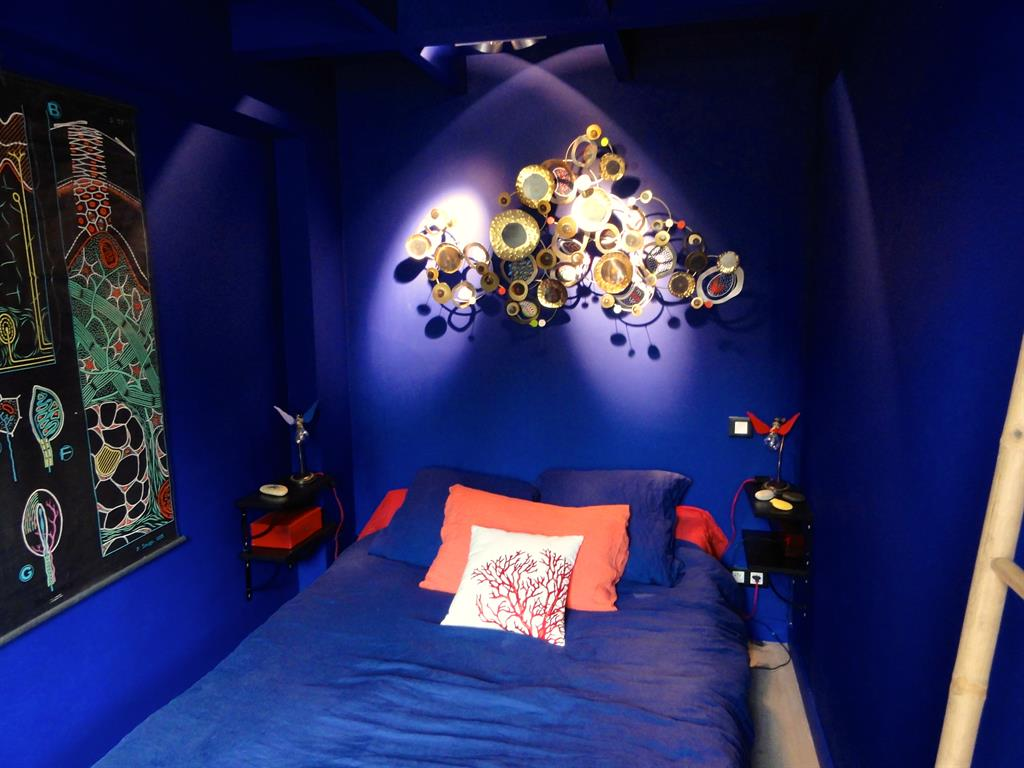 Chambre orientale bleue Laurence Faure photo n07  Domozoom