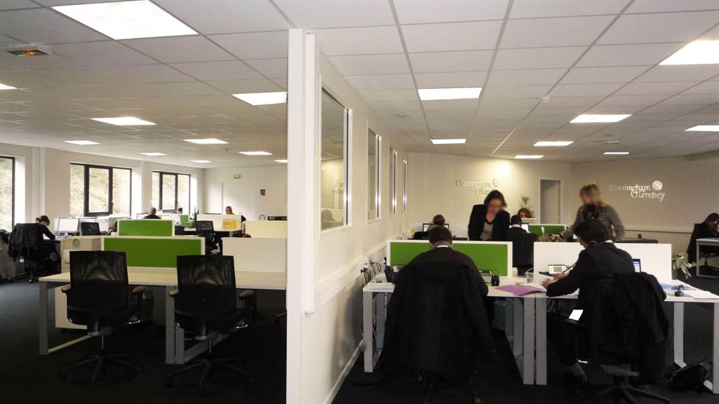 Bureaux open space  Lyon  domozoomcom