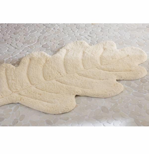 tapis de bain feuille de chene