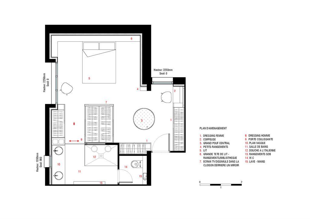 Plan D Amenagement De La Suite Atelierjmca Photo N 17