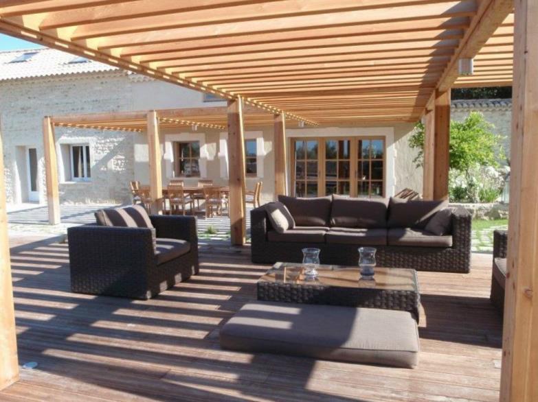 Terrasse avec pergola en bois IdaTechum photo n52