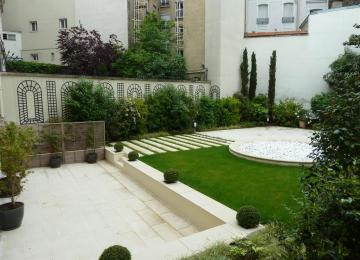 Idée De Jardin Moderne | Idee Amenagement Jardin Devant Maison