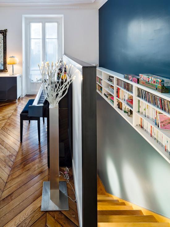 Bibliothque sur mesure  7 ides dco ajustes  vos murs par Emmanuelle Lartilleux  domozoomcom
