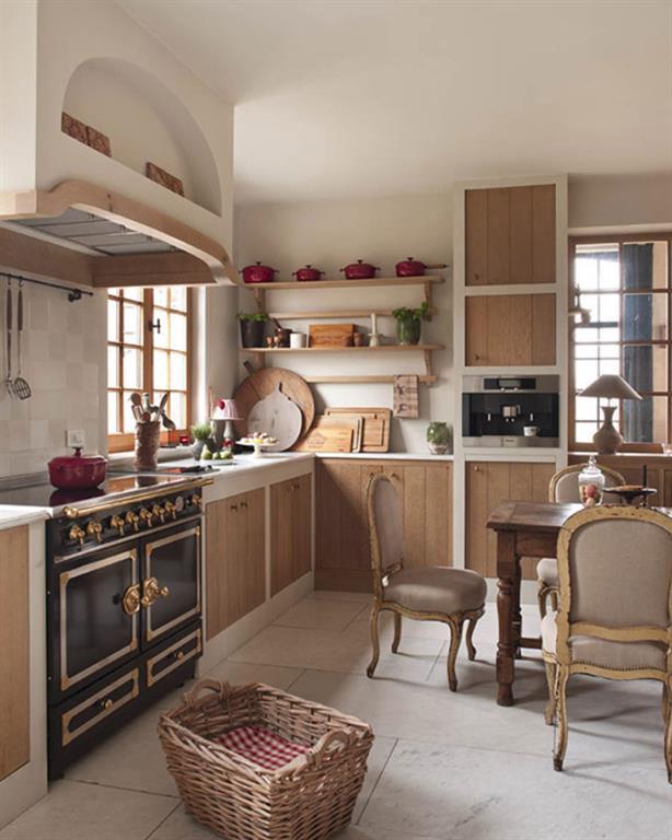 Idees Deco Cuisines Rustiques Aux Airs De Campagne