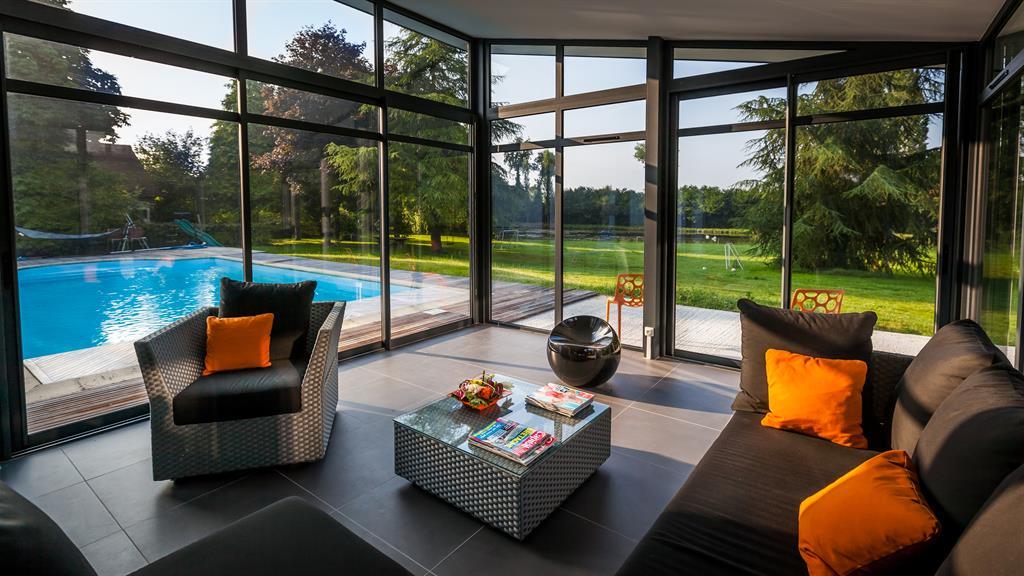 Des ides en photos pour sublimer sa maison avec une belle vranda une extension vitre ou une