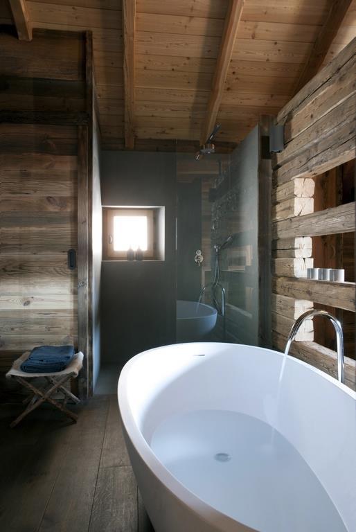 Rgles et astuces pour amnager une salle de bain en bois et obtenir un magnifique esprit chalet