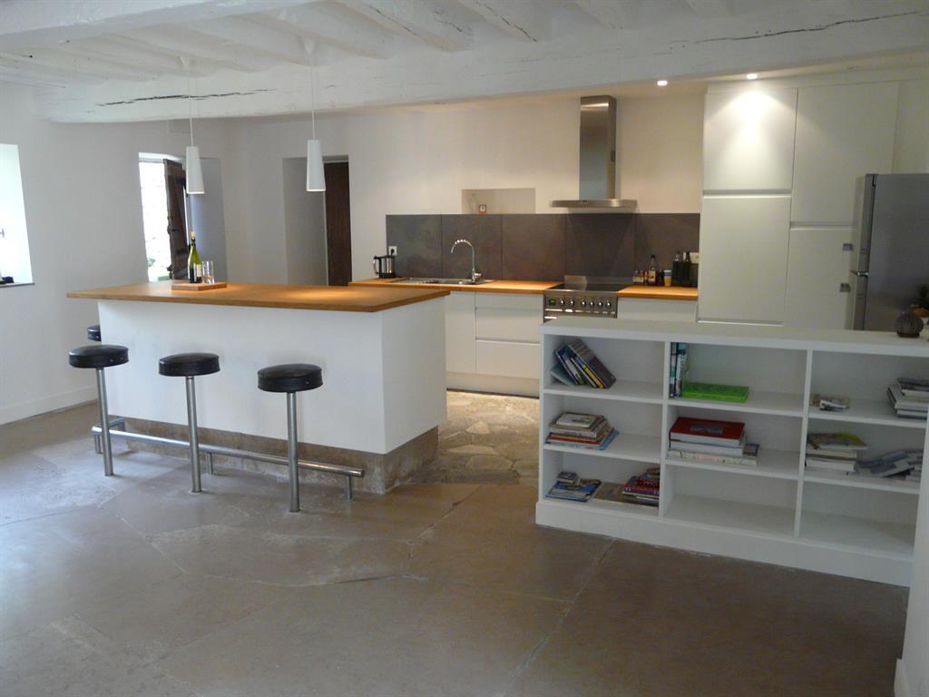 Cuisine ouverte au style moderne montmarin interior design