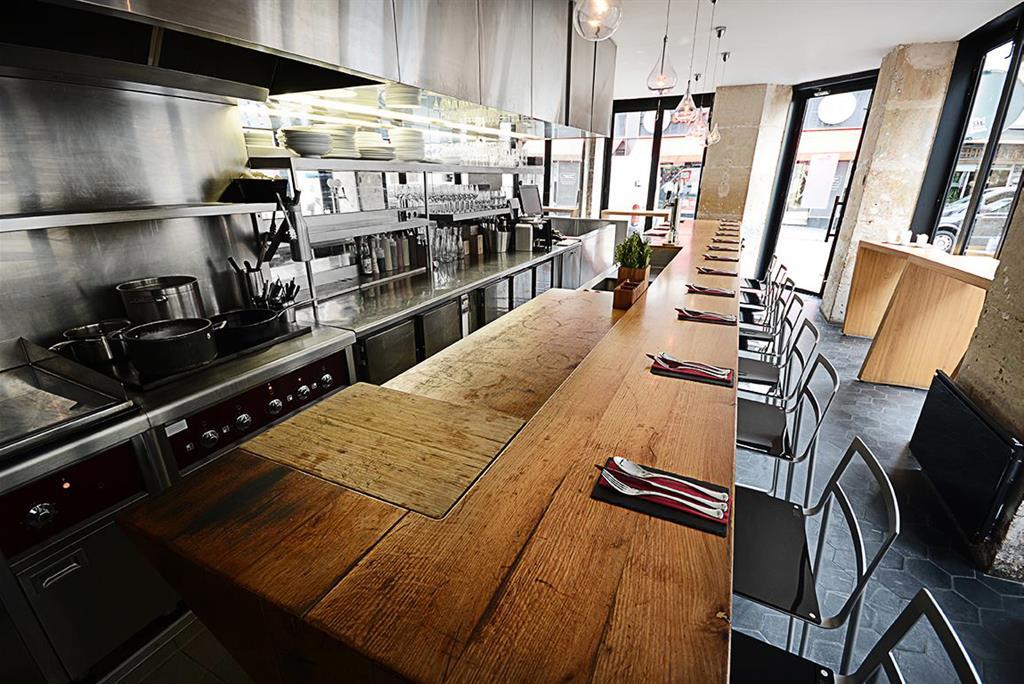 Table De Cuisine Style Ilot Central