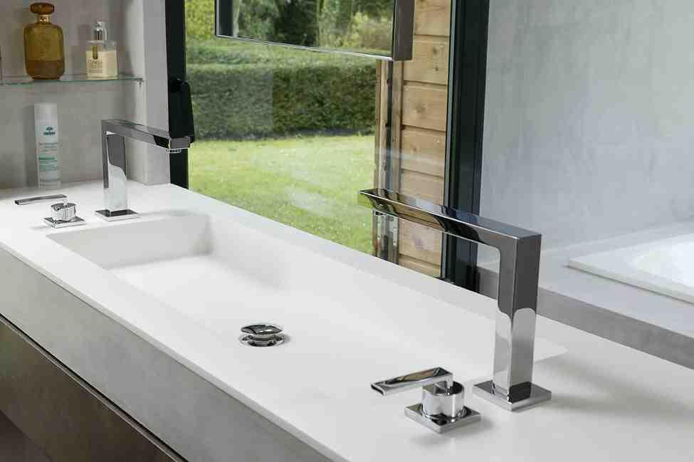 Vasque 2 Robinets - Décoration de maison idées de design d\'intérieur ...
