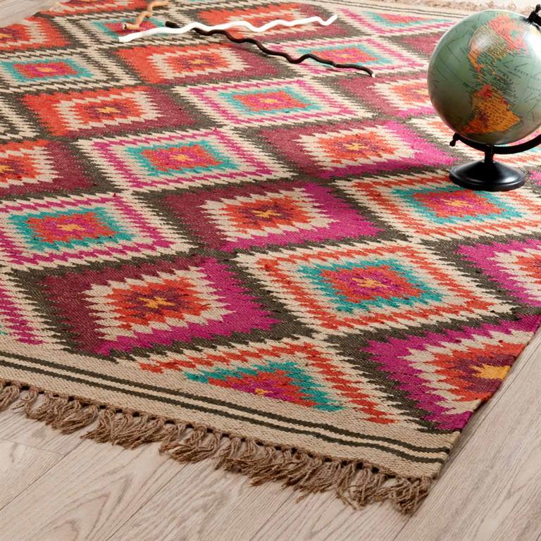 laine multicolore 140 x 200 cm acapulco