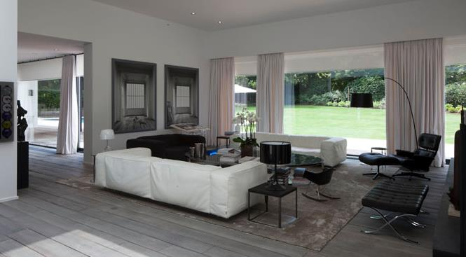 Maison Moderne Avec Grande Baie Vitree L - Cuisinebois