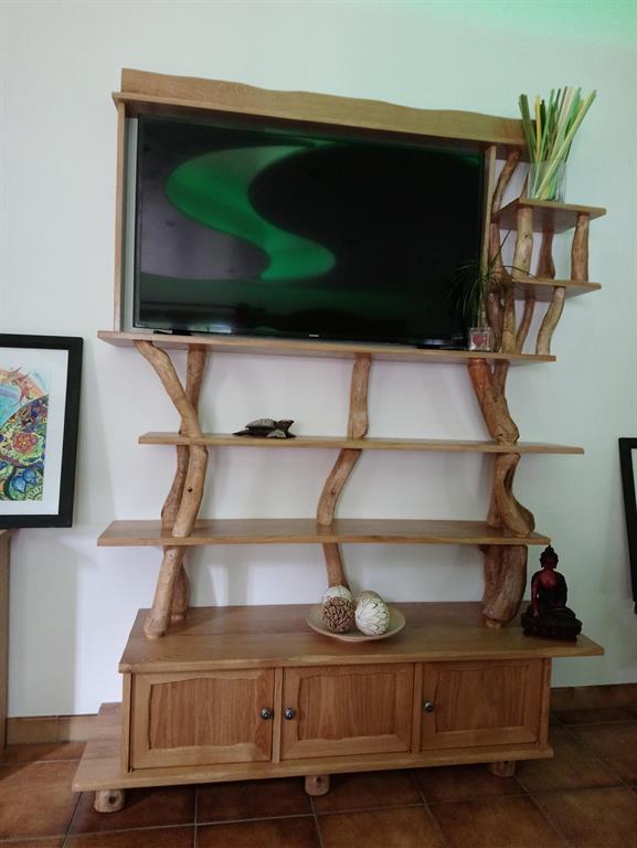 meuble tv bibliotheque domozoom com