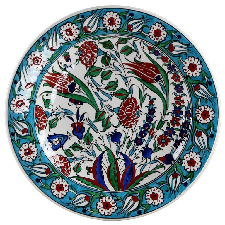 assiette decorative murale en ceramique