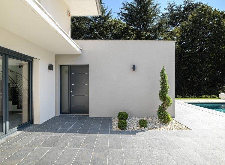 Image Villa En Ossature Bois Avec Terrasse Bois Ombrage Brice Le ...