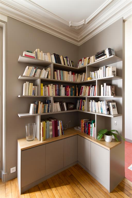 bibliotheque d angle archipelles photo