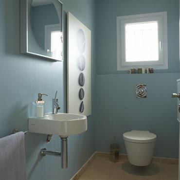 toilettes Modernes Ide dco et amnagement toilettes Modernes  Domozoom