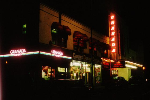 Granada Cinema, Walthamstow, in 1989